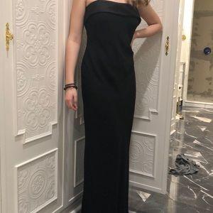 Elegant simple gown